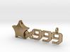 Origami Star x999 Pendant 3d printed