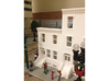 HO SCALE ROW HOME FRONT 2S  3d printed