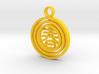 CheekyChi - Gimbal Charm (春) 3d printed