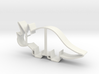 Triceratops Cookie Cutter (smaller Version) 3d printed