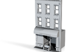 Esthers N Scale Building Front 3d printed