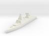 Naval, Destroyer, Generic 3d printed