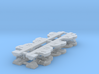 1:64 DL Class Side Frames (4) 3d printed