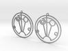 Sophie - Earrings - Series 1 3d printed