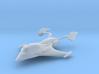 "1/1000 Scale Nebula ""Shark"" System Patrol Ship 3d printed"