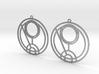 Quinn - Earrings - Series 1 3d printed
