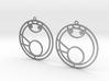 Mya - Earrings - Series 1 3d printed