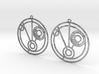 Millie - Earrings - Series 1 3d printed