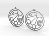 Maddison - Earrings - Series 1 3d printed