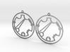 Kristen / Cristen - Earrings - Series 1 3d printed