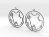 Courtney / Kourtney - Earrings - Series 1 3d printed