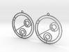 Julia - Earrings - Series 1 3d printed
