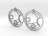 Jessica - Earrings - Series 1 3d printed