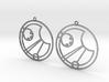 Isla - Earrings - Series 1 3d printed