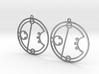 Erica / Erika - Earrings - Series 1 3d printed