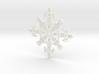 Robot Snowflake 3d printed