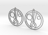 Fiona - Earrings - Series 1 3d printed