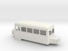 009 cheap & easy double ended railcar with bonnets 3d printed