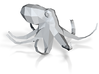 lowpoly octopus  3d printed