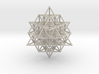 64 Tetrahedron Grid Large 190mm Isotropic Vector M 3d printed