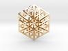 Triangular Hexagon Pendant 3d printed