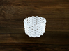 Turk's Head Knot Ring 9 Part X 14 Bight - Size 19. 3d printed