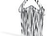 Comb2-zebra 3d printed