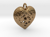 Heart Valentine's Day Pendant 3d printed