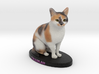 Custom Cat Figurine - Tallulah 3d printed
