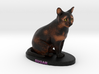 Custom Cat Figurine - Sugar 3d printed