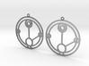 Hailie - Earrings - Series 1 3d printed