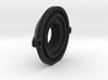 CS-mount (security camera lens) P8079HP Adapter 3d printed