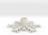 SnowFlake Candle Holder 3d printed