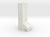 Office Building 10 Story 3d printed