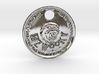 ZWOOKY Style 204 - pendant zodiac - Leo 3d printed