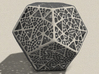 Like Fractal Subdivided Dodecahedron 3d printed