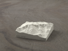3'' Pikes Peak, Colorado, USA, Sandstone 3d printed