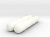 1/64 1200gal NH3 Twin Tank 3d printed