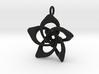 Petal Rings 5 Points - 2.5cm - wLoopet 3d printed