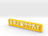 ZWOOKY Style 16 Sample - handbag tag 3d printed