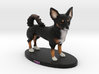 Custom Dog Figurine - Tink 3d printed