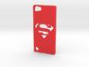 Ipod 5 Superman case 3d printed