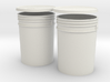 1:6 Scale 5 gal Buckets 3d printed