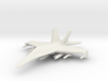 1/285 (6mm) F-18 Super -w/Conform Tanks w/ord-2 3d printed
