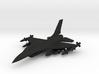 1/285 Scale F-16D w/Ordnance 3d printed