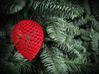 Christmas Pine Cone Decoration 3d printed Red Pine Cone in Christmas tree