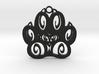 Canine Pawprint 3d printed