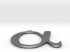 Greek Letter Alpha Pendant Necklace 3d printed