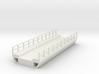 N Modern Concrete Bridge Deck Single Track 100mm 3d printed