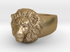 Lion Ring (size11) 3d printed